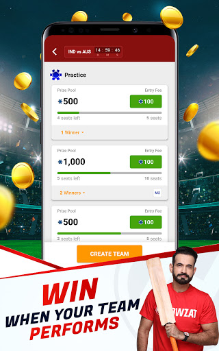Howzat Fantasy Cricket App - Free Fantasy Games apkdebit screenshots 8