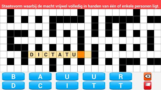 Kruiswoordpuzzels Nederlands Gratis  screenshots 4