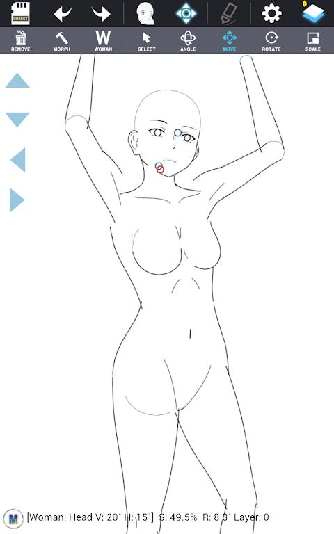 Character Maker -How to drawのおすすめ画像3