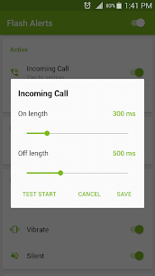 Flash Alerts on Call and SMS (PREMIUM) 3.96 Apk 4