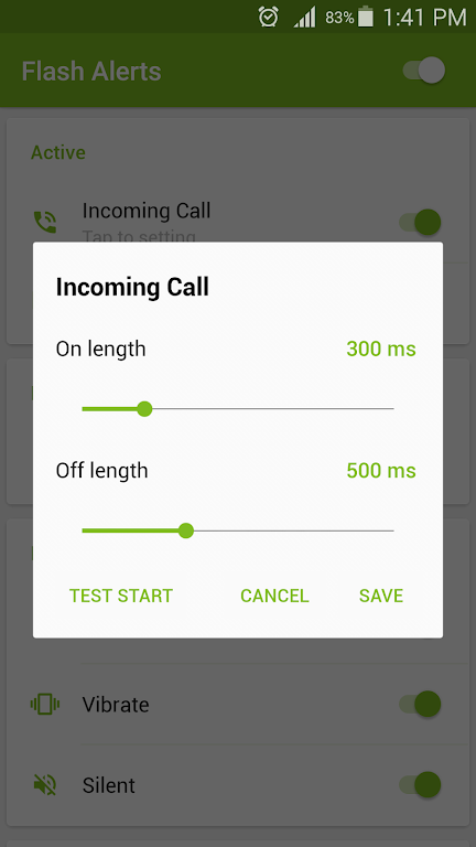 Flash Alerts on Call and SMS  poster 3
