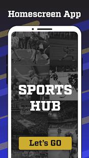 Sports Hub - News, Scores, & Fans Home Screen