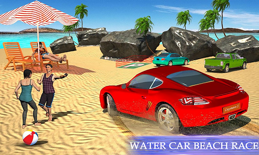 water surfing floating car racing game 2020 screenshot 2