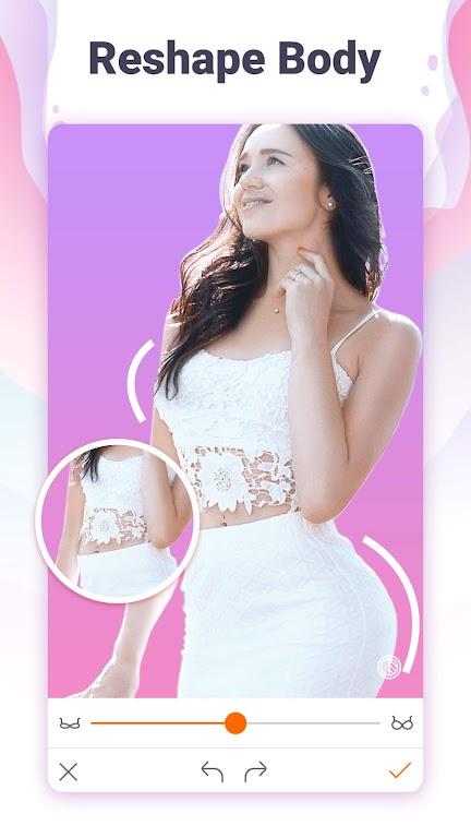 Hotune - Face&body editor&body enhancer&face app poster 0