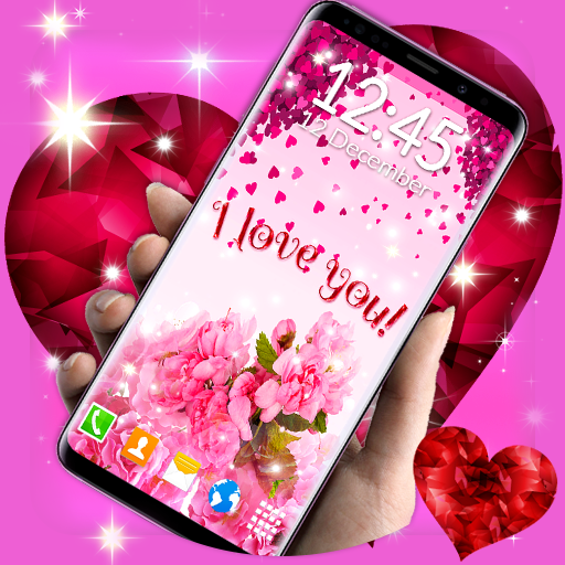Love Hearts Live Wallpaper Couple 3d Wallpaper Aplikasi Di Google Play