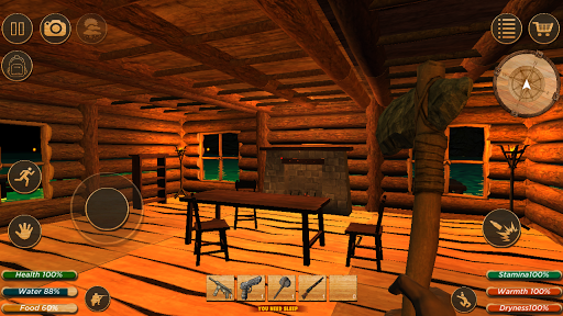 Survival Forest : Survivor Home Builder 2 apkdebit screenshots 12