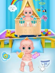 ママと新生児のベビーシャワー-ベビーシッターゲームのおすすめ画像4