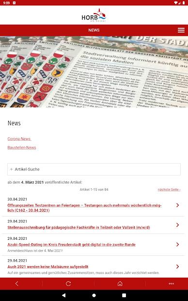 Horb-App screenshot 6