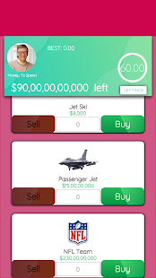 Spend Bill Gates Money 0.6 Screenshots 3