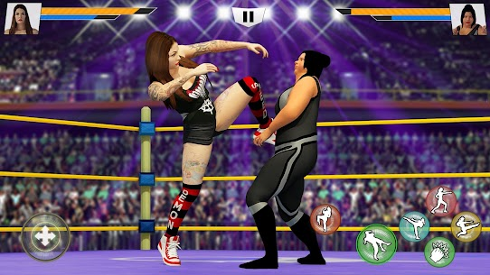 Bad Girls Wrestling Rumble: Women Fighting Games 2