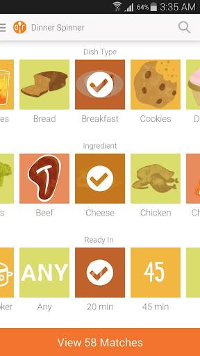 Allrecipes Dinner Spinner  Screenshots 7