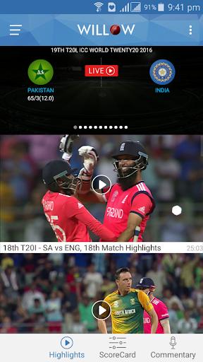 Willow - Watch Live Cricket  screenshots 2