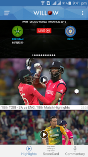 Willow - Watch Live Cricket Screenshot