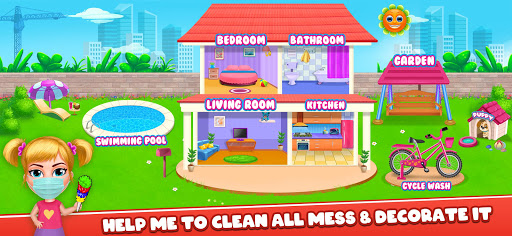 Big Home Makeover - House Cleaning Game for Girls 3.0 screenshots 3