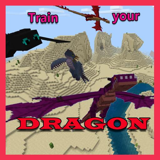 🐉 Train your Dragon Mod  Minecraft PE 🐉