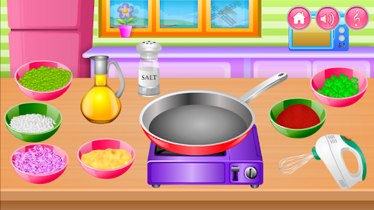 Free Cooking in the Kitchen – Baking games for girls 1