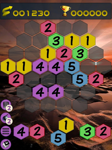 Get To 7, merge puzzle game - tournament edition.  screenshots 12