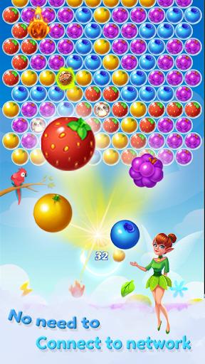 Fruit Bubble 2 - Fairy kingdom apkpoly screenshots 2