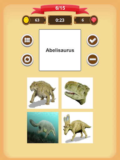 Dinosaurs Quiz 1.9.0 screenshots 12
