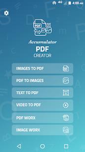 Accumulator PDF creator 2