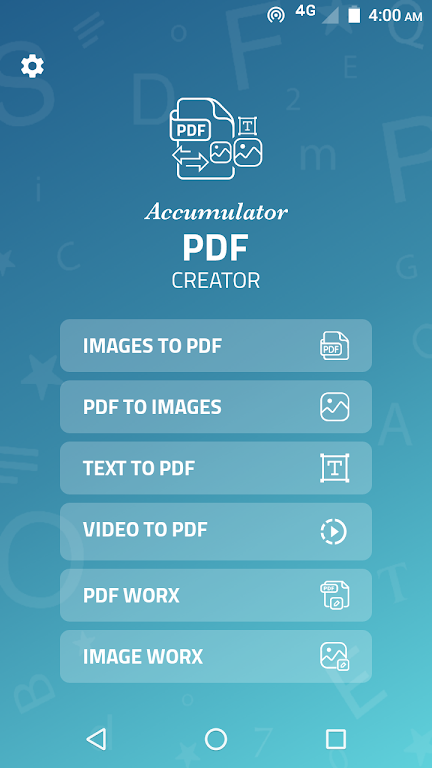 Accumulator PDF creator  poster 1