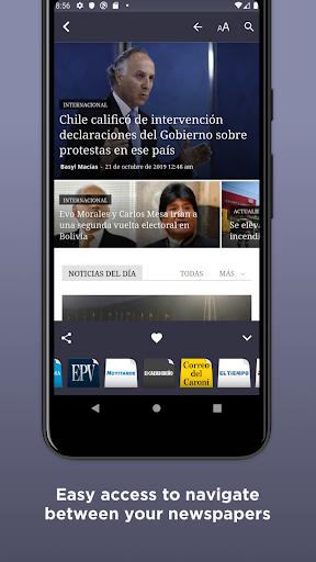 venezuelan newspapers screenshot 3