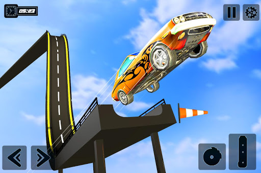 Impossible GT Car Driving Tracks: Big Car Jumps apkpoly screenshots 2