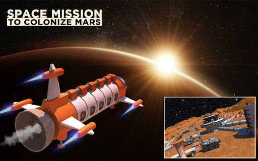 Space Station Construction City Planet Mars Colony  screenshots 8