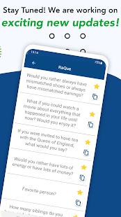 RaQue u2013 Add Random Questions to your chats 1.2 APK screenshots 5