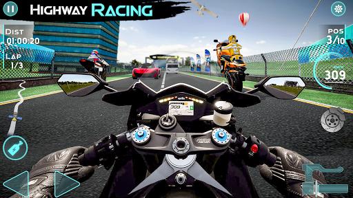 Real Bike Rider: High Speed Traffic Racing Games 5.8 screenshots 1