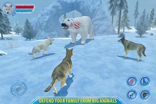Arctic Wolf Sim 3D  screenshots 2
