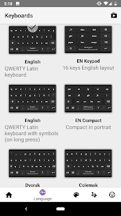 AnySoftKeyboard Screenshot