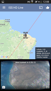 ISS Live Now: Live HD Earth View and ISS Tracker 6.2.9 Screenshots 7