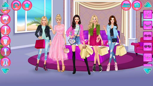 Girl Squad Fashion - BFF Fashionista Dress Up  screenshots 1