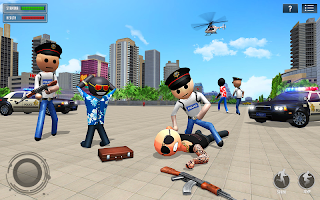 Stickman Gangster Crime City: Stickman Games