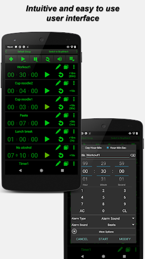 multi timer free screenshot 2