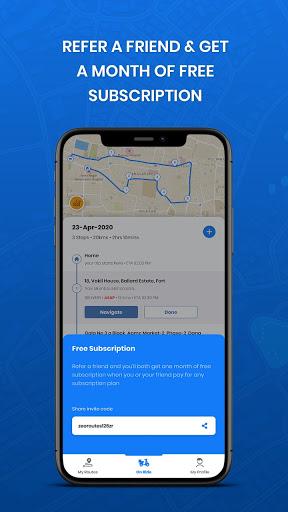 Zeo Route Planner - Fast Multi Stop Optimization 6.8 Screenshots 6