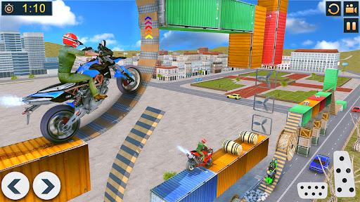 Bike Stunts Race 2021: Free Moto Bike Racing Games apkdebit screenshots 11