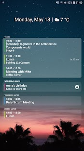 Your Calendar Widget Screenshot