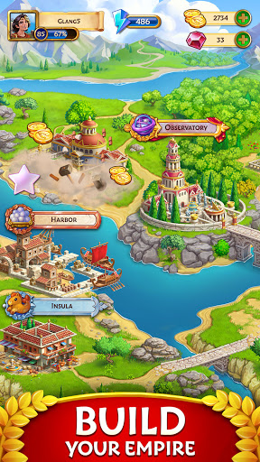 Jewels of Rome: Gems and Jewels Match-3 Puzzle  screenshots 4
