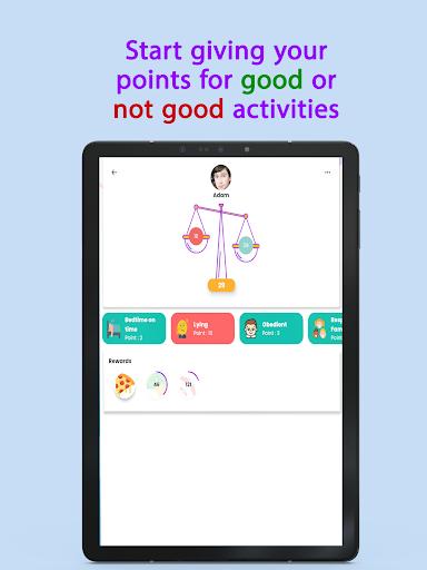 Points - Behavior tasks rewards  Screenshots 9