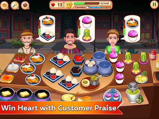 Cooking Corner - Chef Food Fever Cooking Games 2.1 screenshots 8