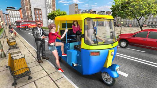 Modern Tuk Tuk Auto Rickshaw: Free Driving Games apklade screenshots 1