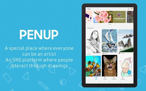 PENUP - Share your drawings Screenshot