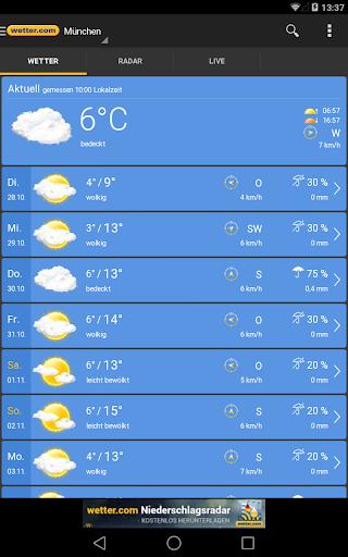 wetter.com - Weather and Radar 2.43.5 Screenshots 13