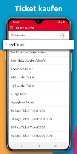 HandyTicket Deutschland  screenshots 4