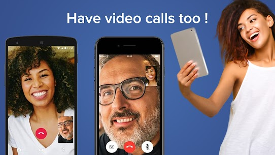 Social Messenger: Free Mobile Calling, Live Chats 2