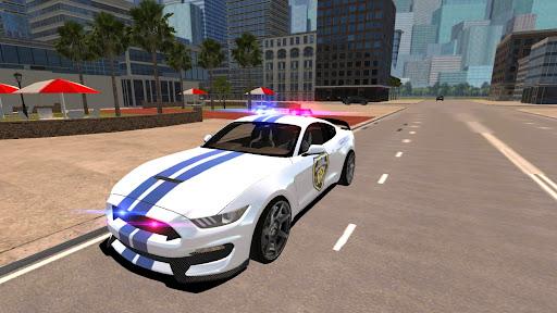 Mustang Police Car Driving Game 2021 1 screenshots 7