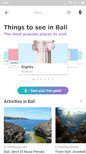 Bali Travel Guide in English with map
