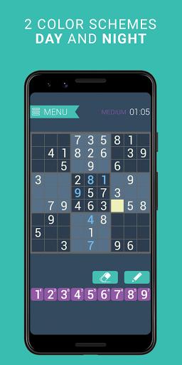 Sudoku classic   Free puzzle game   Easy sudoku 3.8.3 screenshots 4